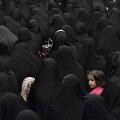 Women gathered in the Hosseyniye Sadat Akhavi. Tehran, Iran, November 2012.
