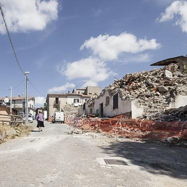 """Sisma Centro Italia 2017/2018 , progetto """"Lo stato delle cose"""", Campotosto (AQ)"""