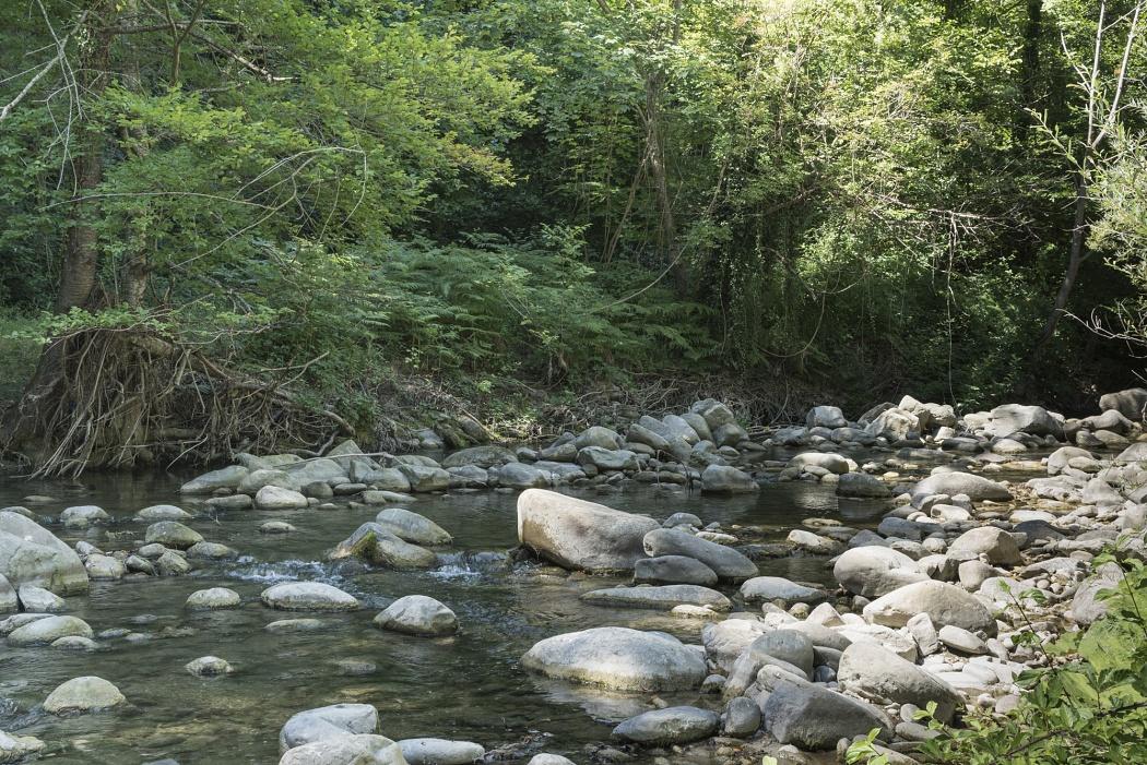 Torrente Rio Fucino, Parco Nazionale del Gran Sasso d'Italia,  Crognaleto ( TE)  - S.P.45a Abruzzo, Crognaleto 64043 TE 42.574584, 13.473972